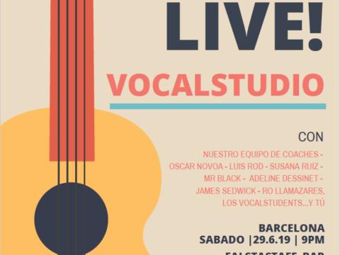 Vocalstudio lIve concierto