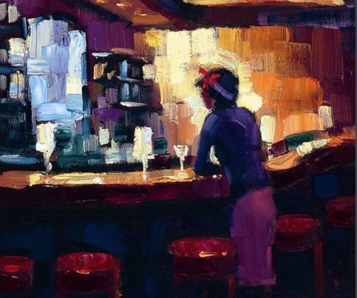 Lady Luck Serendipity Suite, oleo sobre lienzo, por MIchael Flohr